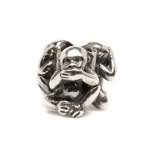 Trollbeads – Three Monkeys Bead – 11249