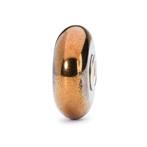 Trollbeads – Yellow Hematite Bead – 80024