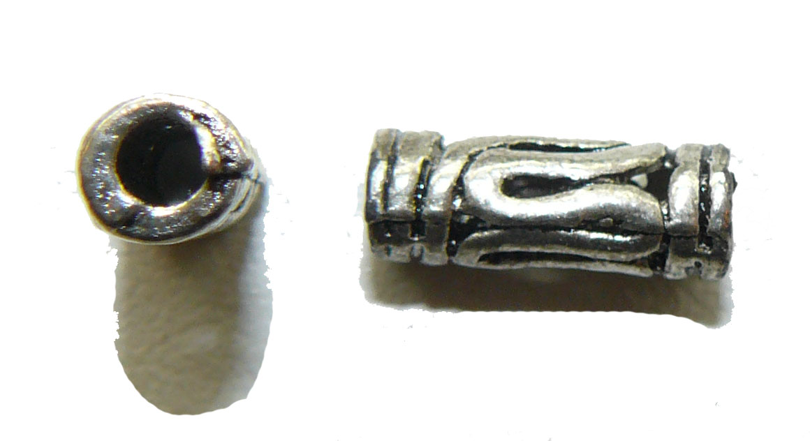 Bali Tube Metal Bead
