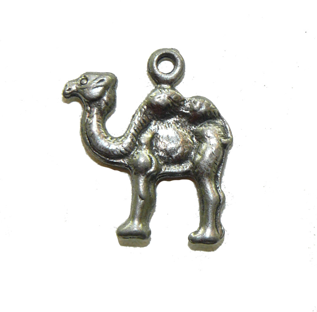 Camel Pewter Charm
