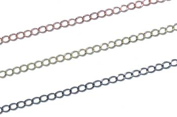 Delicate Curb Chain 4mm