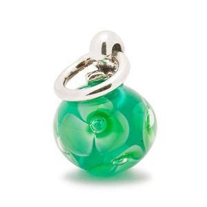Trollbeads – Green Flower Tassel Bead – 61728