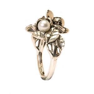 Trollbeads – Hawthorn with Pearl – R5102