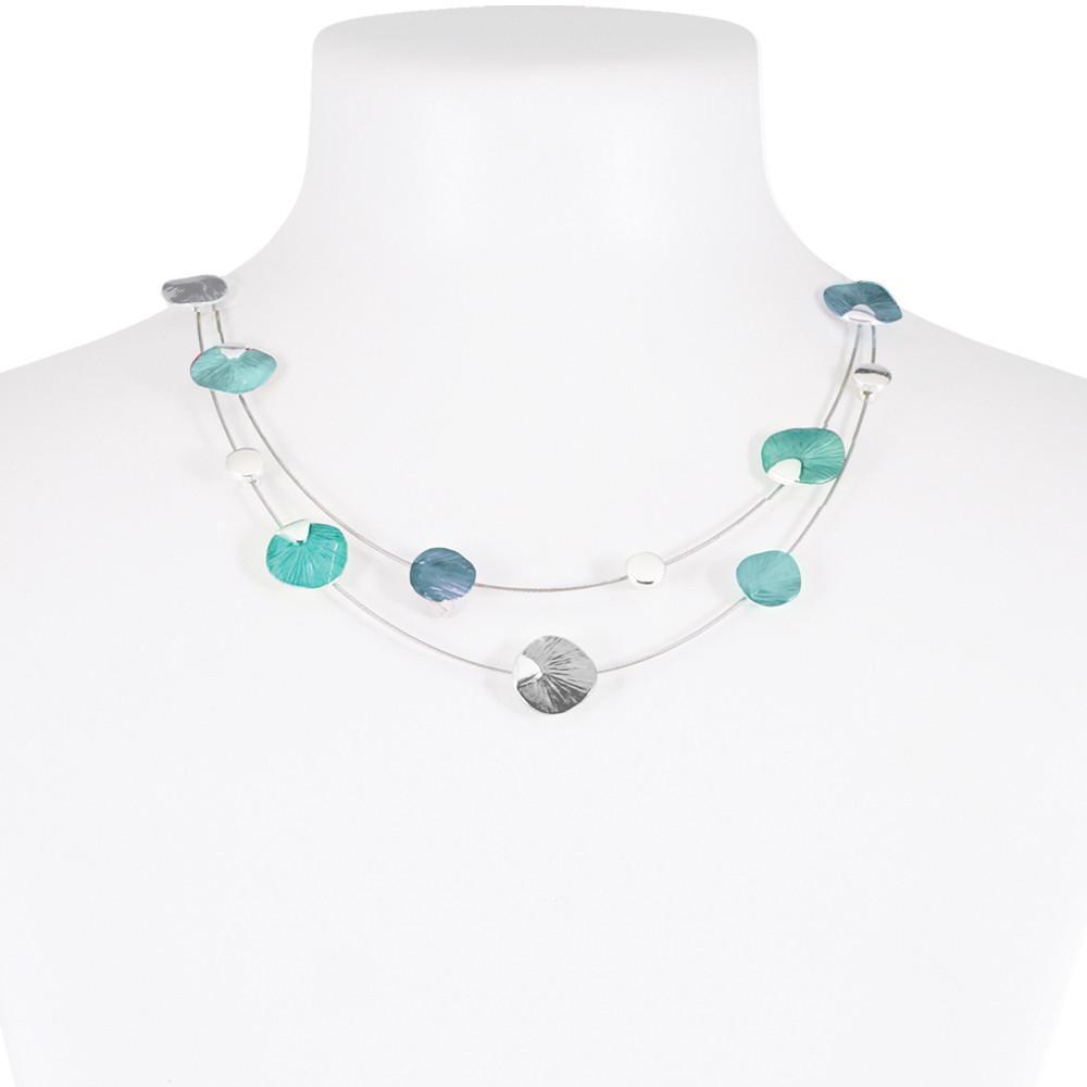 Necklace Blue 07-088200