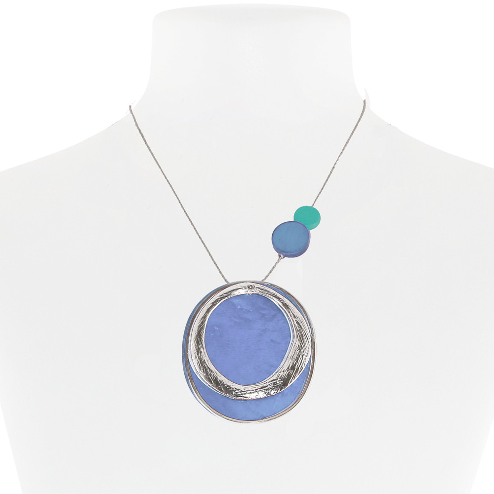 Necklace Blue 21-088422