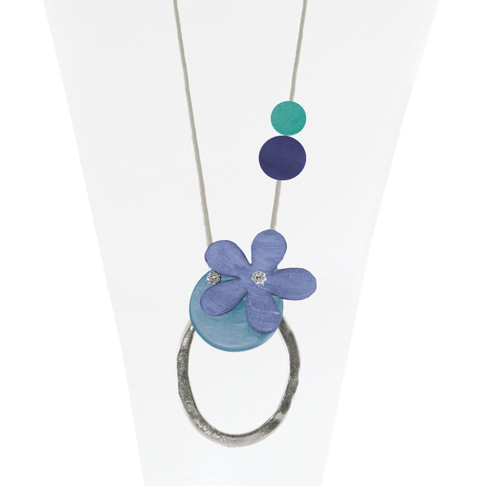 Necklace Blue 22-088392