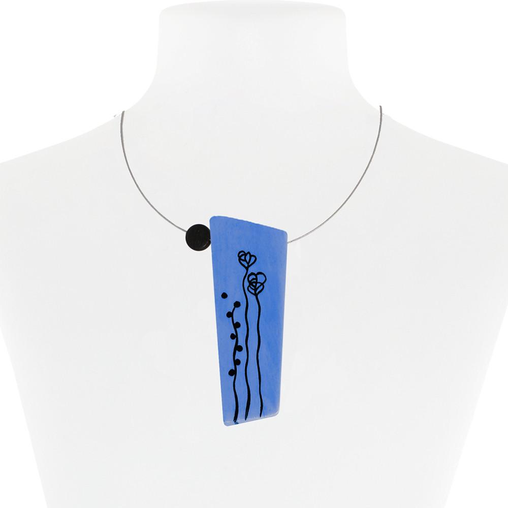 Necklace Blue 26-088620