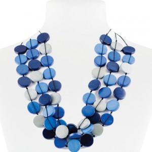 Necklace Blue 30-068486