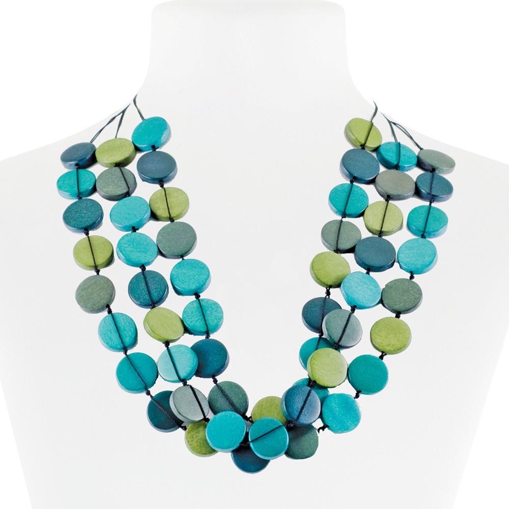 Necklace Blue 30-068493