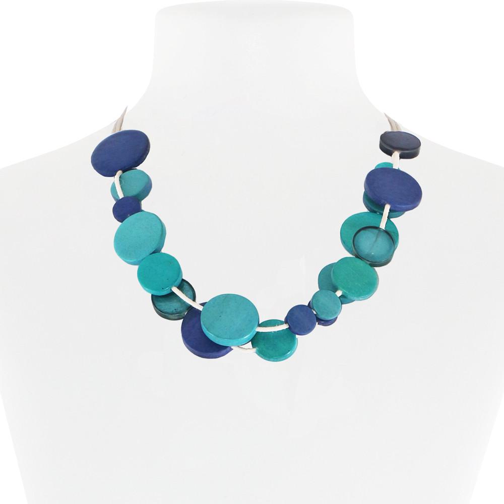 Necklace Blue 31-088651