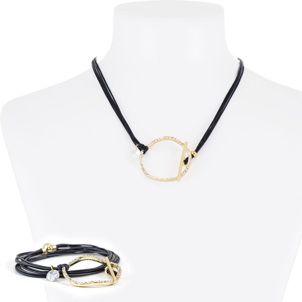 Necklace Bracelet Ringo Gold 9-84905