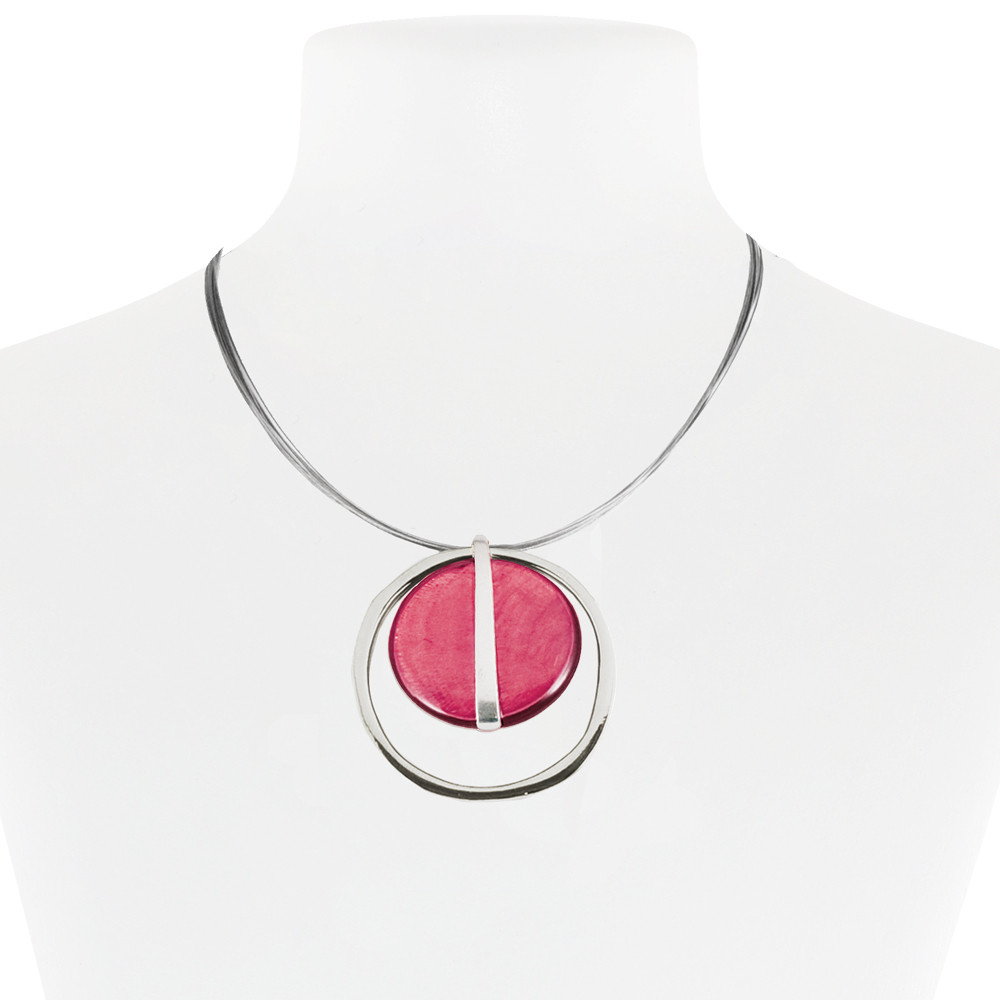 Necklace Pink 10-087944