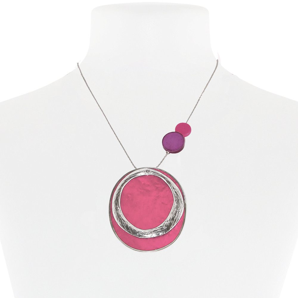 Necklace Pink 21-088415