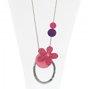 Necklace Pink 22-088385