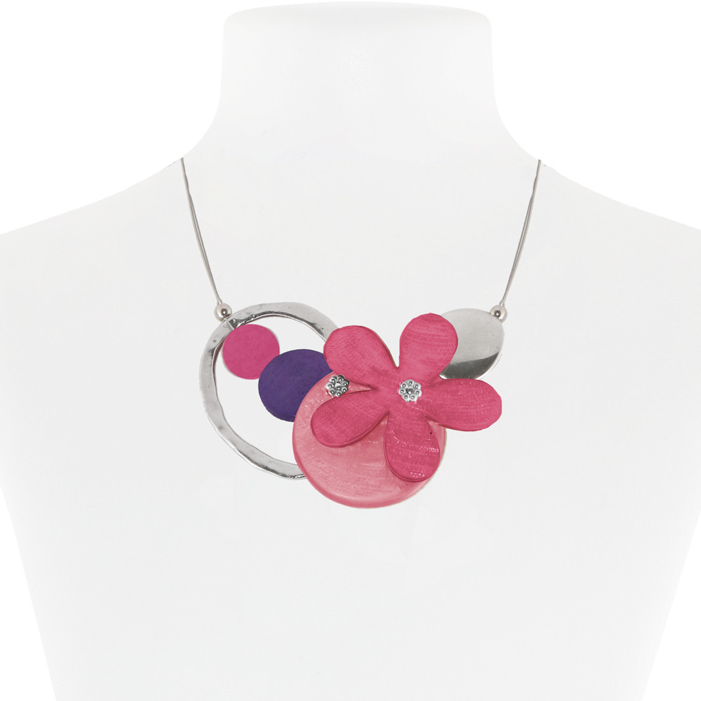Necklace Pink 23-088354