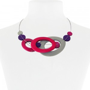 Necklace Pink 26-088583