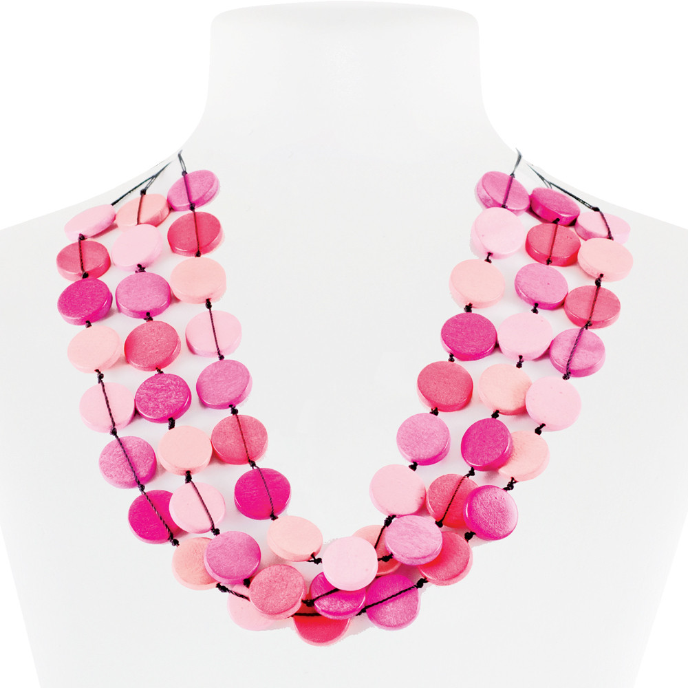 Necklace Pink 30-068479