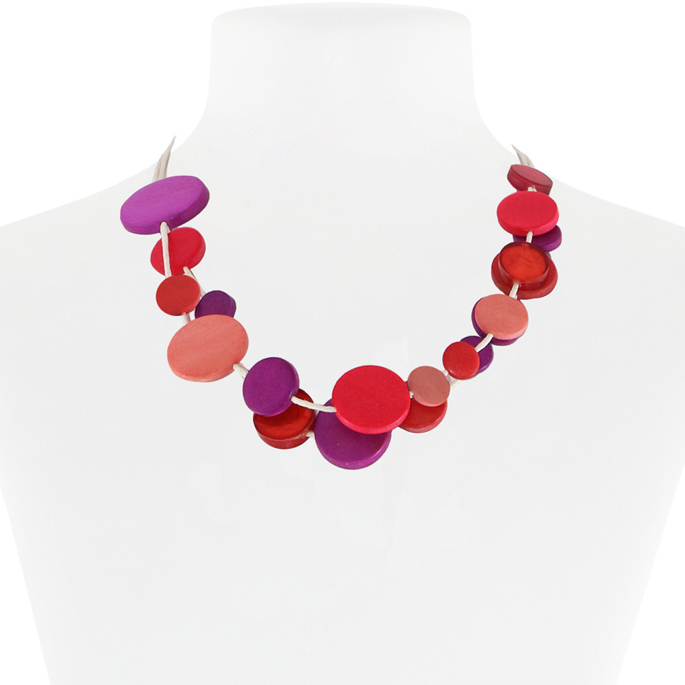 Necklace Pink 31-088644