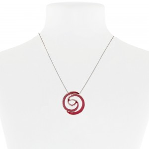 Necklace Red 18-089399