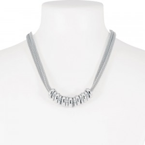 Necklace Silver 3-86039