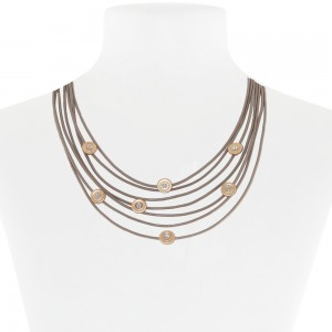 Necklace Taupe 52-089597