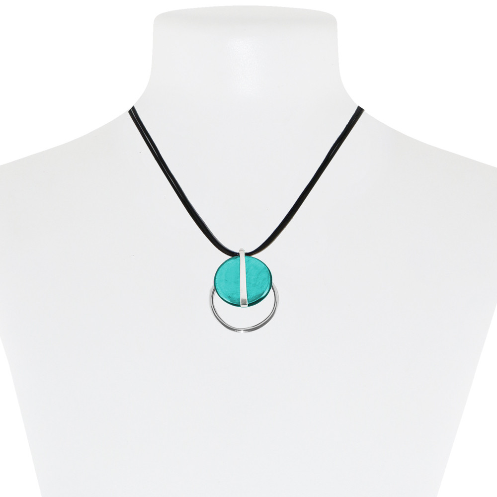 Necklace Teal 10-088019