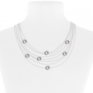Necklace White 52-089580