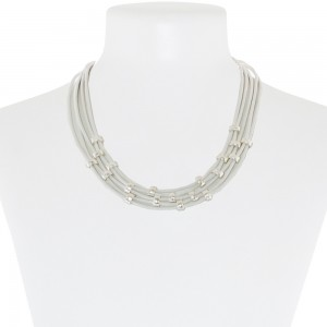 Necklace White 52-089641