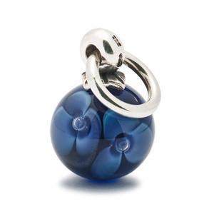 Trollbeads – Purple Flower Tassel Bead – 61727