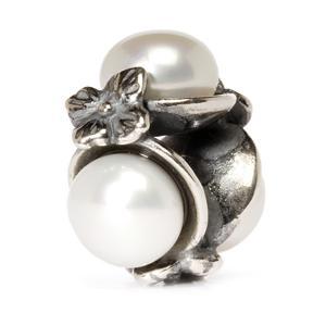 Triple Pearl Bead, White