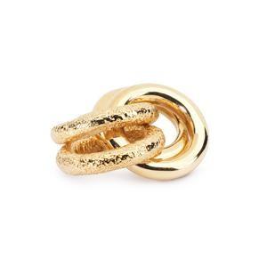 Trollbeads – 2 + 2 Bead, Gold – 21810