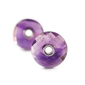 Trollbeads – Amethyst Earrings – 86101