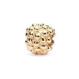 Trollbeads – Berry Bead, Gold – 21104