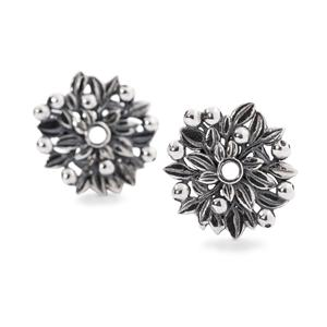 Blueberries of Youth Earring Accessories, Silver