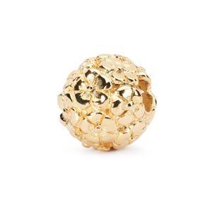 Trollbeads – Bouquet Bead, Gold – 21811