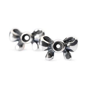 Trollbeads – Bow Earrings – 16105