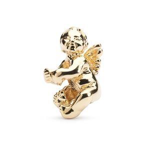 Trollbeads – Cherub Bead, Gold – 21322
