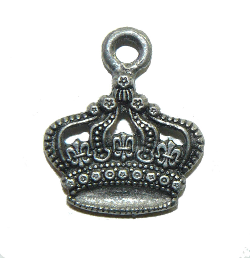 Crown - Pewter Charm