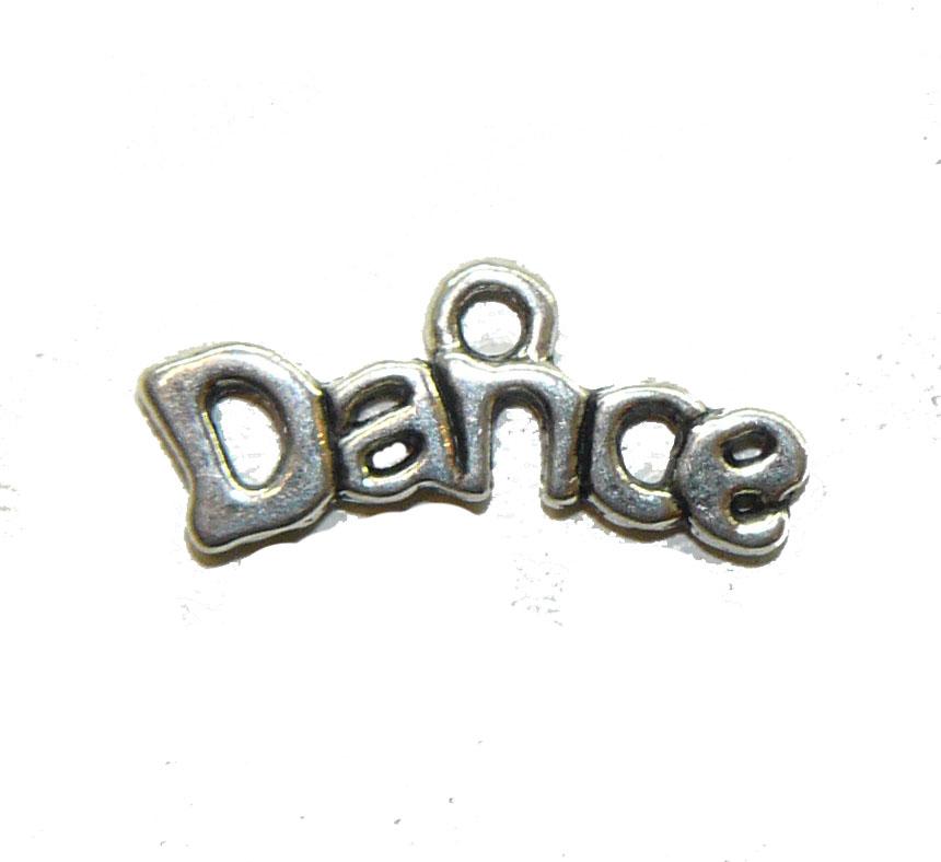 Dance Metal Charm