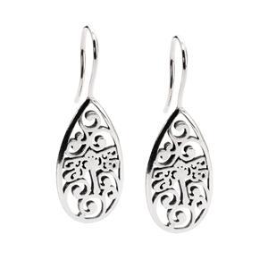 Dragonfly Beauty Earrings, Silver