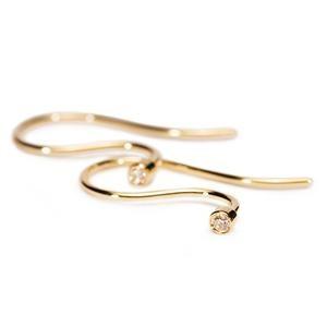 Earring Hooks, Gold-Brilliant