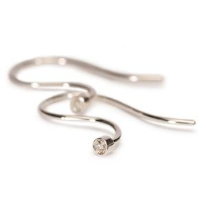 Trollbeads – Earring Hooks, Silver/Brilliant – 50601