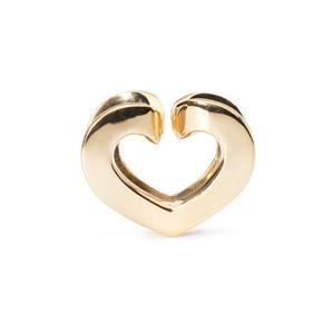Trollbeads – Eternal Love Bead, Gold – 21830