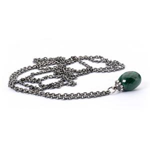 Trollbeads - Fantasy Necklace, Malachite