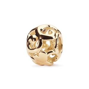 Trollbeads – First Signs Bead, Gold – 21828