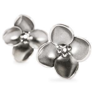 Trollbeads – Hanging Hydrangea Earrings – 16212