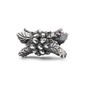 Trollbeads – Holly Berry Bead, Silver – TAGBE-20109