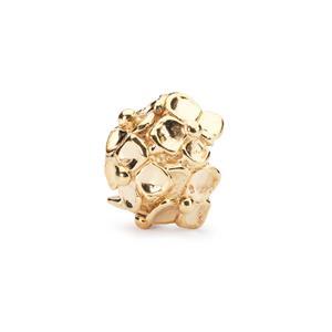 Hydrangea Bead, Gold