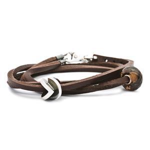 Trollbeads – Leather Bracelet, Brown – L5104