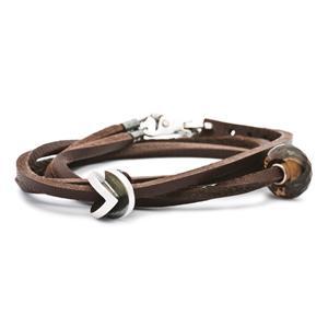 Leather Bracelet, Brown